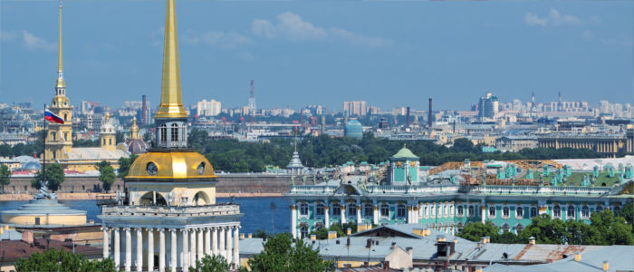 City Saint Petersburg in Russia