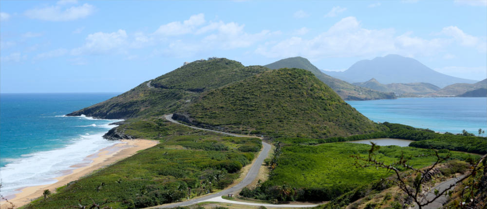 Caribbean island of Saint Kitts and Nevis