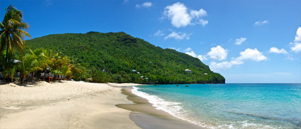 Dream beaches in Saint Vincent and the Grenadines