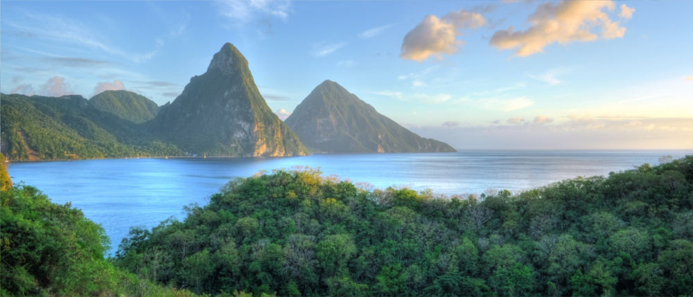 Saint Lucia's island world