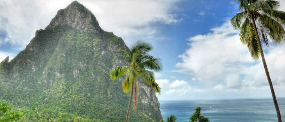 Saint Lucia's mountains
