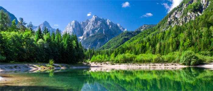 The Julian Alps in Slovenia