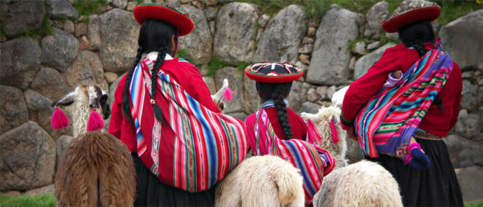 The Peruvian Incas in Cusco, South America
