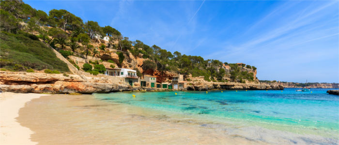 Beach on the Balearic Islands
