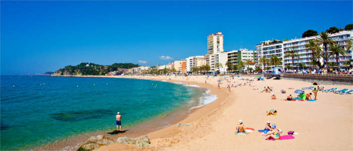 A well-known tourist destination at the Costa Brava