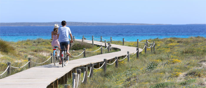 Cycling on Formentera