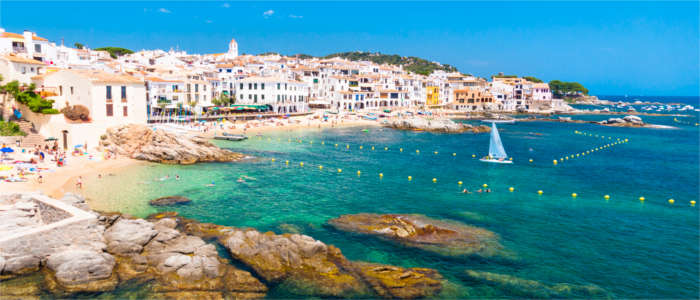 Town at the Costa Brava
