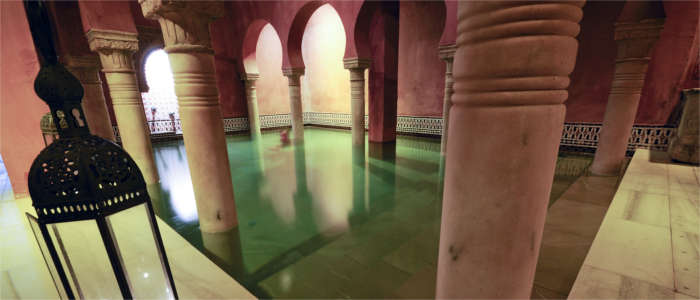 Swimming in the Hammam al Andalus