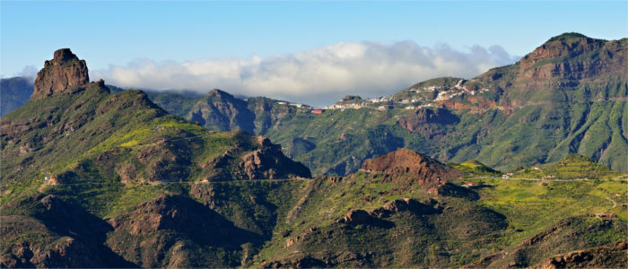 Mountains on Gran Canaria