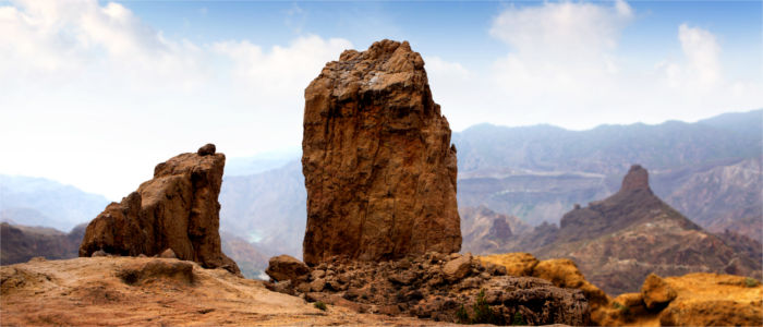 Roque Nublo on Gran Canaria
