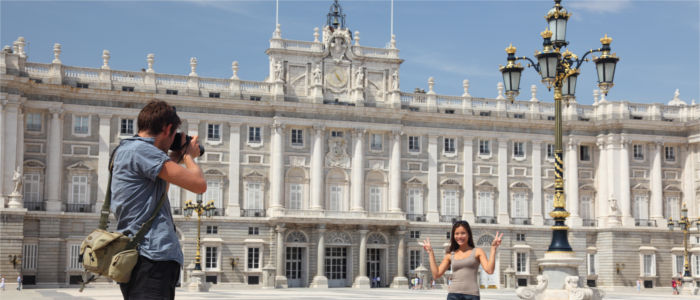 Sightseeing in Madrid