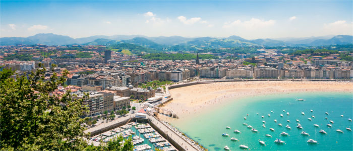 San Sebastián in the Basque Country