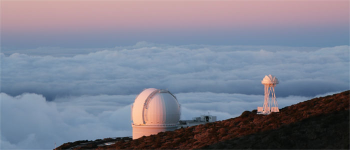Telescope on La Palma