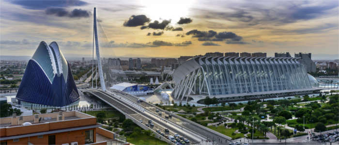 The City of Arts and Science in Valencia