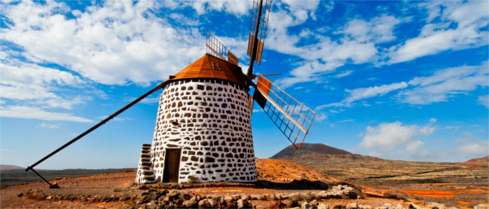 Windmill on Fuerteventura
