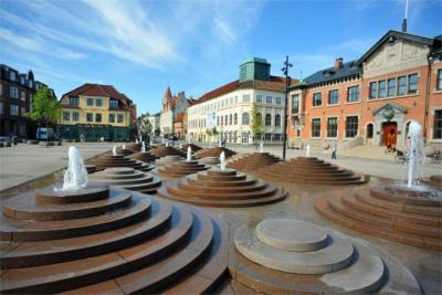 Square in Aalborg