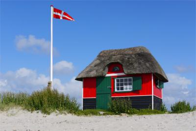 Beach on Ærø