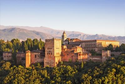 The Alhambra in Grandada - Andalusia