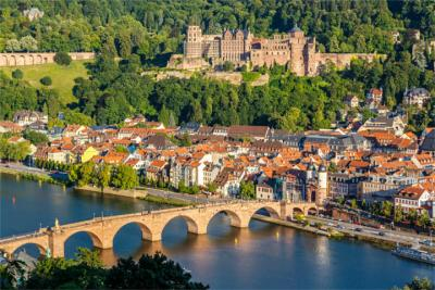 The university city of Heidelberg