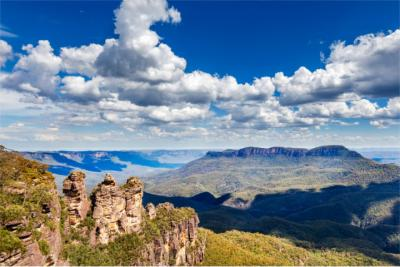 World Natural Heritage site of the Blue Mountains