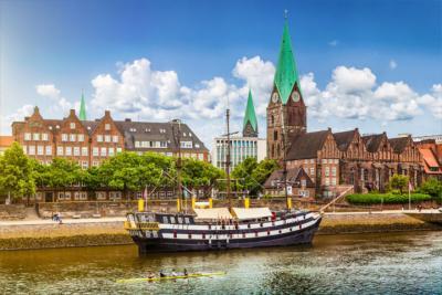 Bremen's old town