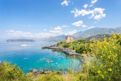 Coast in Calabria