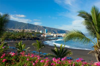 Playa Jardín on Tenerife