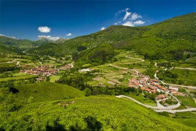 Valley in Cantabria