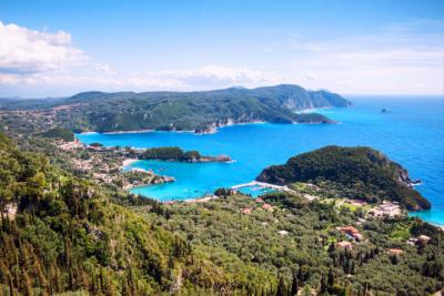 Corfu in the Ionian Sea