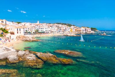 A fishing village at the Costa Brava
