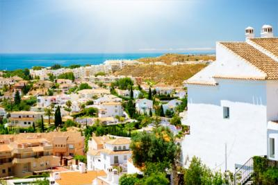 A white village at the Costa del Sol