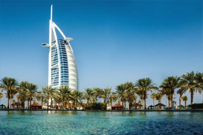 Travel destination Dubai