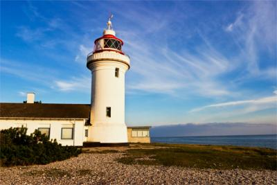 Lighthouse in East Jutland