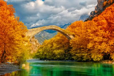 Stone bridge in Epirus