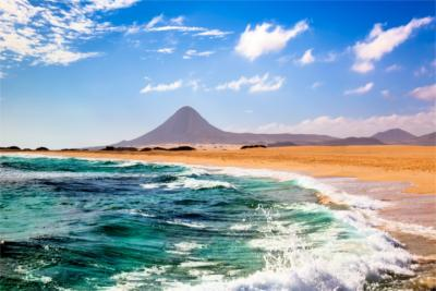 Landscape at the seaside - Fuerteventura