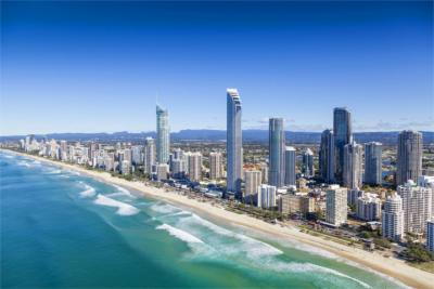 Gold Coast's skyline
