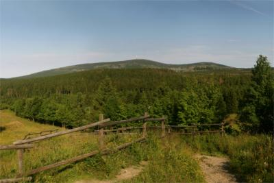 View of the Harz and the Brocken