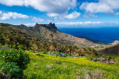 Alojera on the Canary island La Gomera