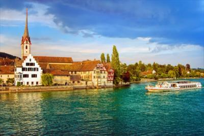 Town at Lake Constance