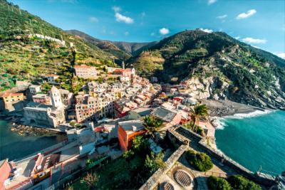 Cultural landscape in Liguria
