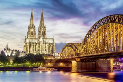 Cologne's skyline