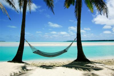Travel destination of the Cook Islands