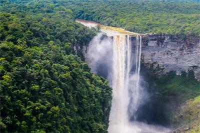 Travel destination of Guyana