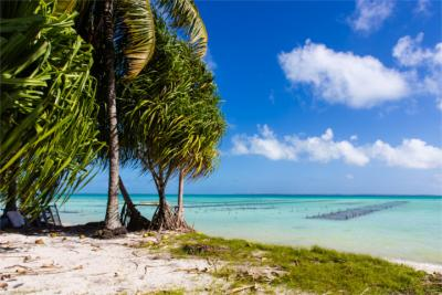 Travel destination of Kiribati
