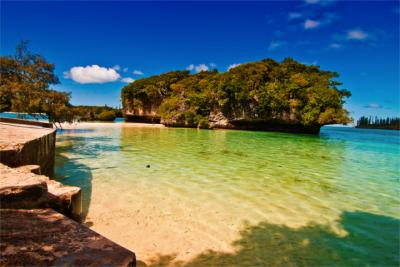 Travel destination of New Caledonia