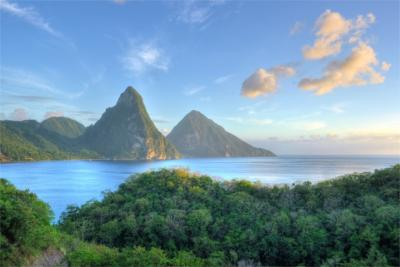 Travel destination of Saint Lucia