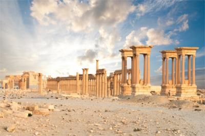 Travel destination of Syria