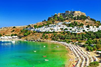 The Dodecanese island of Rhodes