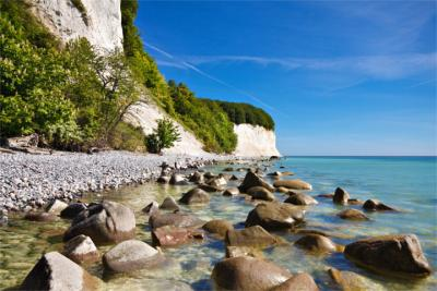 Chalk cliffs on Rügen