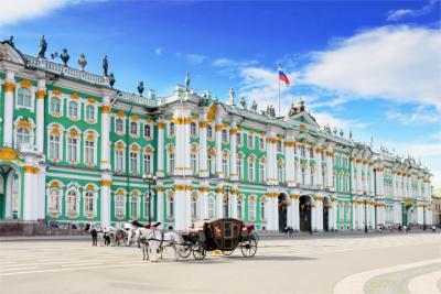 Famous palace in Saint Petersburg